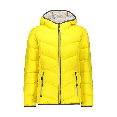 CMP Daunenjacke mit Kapuze für Mädchen XL gelb