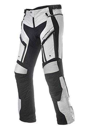 Clover GT-PRO-2 Motorradhose, Schwarz/Weiß, W: 39