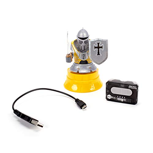 HEXBUG Micro Titans Knight Single, Toys for Kids, Remote Controlled Robot Battle (Yellow)