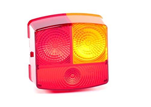 Preisvergleich Produktbild HELLA 9EL 137 308-001Lichtscheibe Heckleuchte,  für Schluss-Brems-Blinklicht,  Anbau rechts