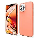 elago Liquid Silicone Hülle Kompatibel mit iPhone 12 Pro Max Hülle (6,7