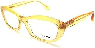 Miu Miu MU02MV Eyeglasses-PDA/1O1 Glitter Gradient Gold-54mm