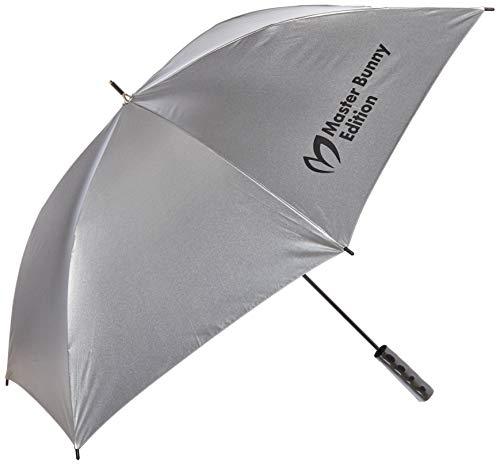 [マスターバニー] [ユニセックス] [継続定番商品] UV傘 (軽量・全長60cm・遮熱効果約9℃) / ゴルフ 紫外線対策 / 758-1984301 160_シルバー FR