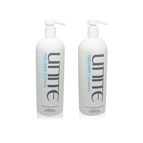Unite 7 Seconds Daily Moisture Shampoo 33.8 OZ & Conditioner 33.8 OZ Set