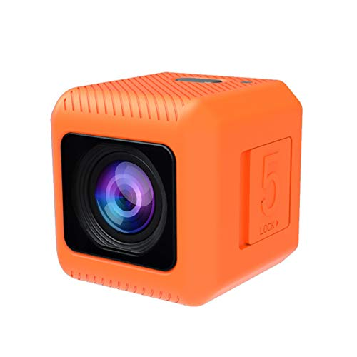 RunCam 5 4K FPV Camera 1080P HD Micro Action Camera 145 Degree FOV NTSC PAL Switchable for FPV Racing Drone and Sport Video Recording Orange