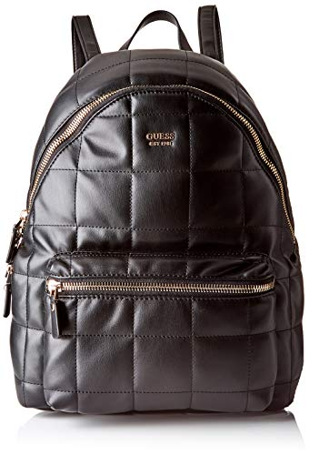 Guess - Urban Sport Leeza Backpack, Mujer, Negro (Nero), 30x38.5x14 cm (W x H L)