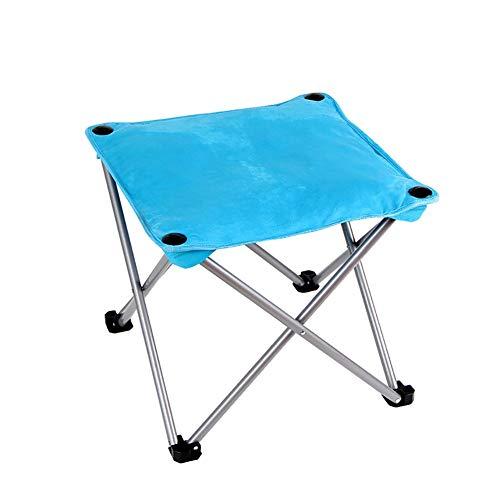 YLCJ SunLoungers Vouwstoelen Kantoor casual draagbare bureaustoelen (Kleur: roze rood) Blauw