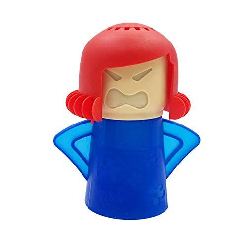 Angry Mama Forno a microonde Forno a microonde Facilmente s Forno a microonde Elettrodomestici a vapore Forno a microonde Frigorifero ing-Angry Mama Blue