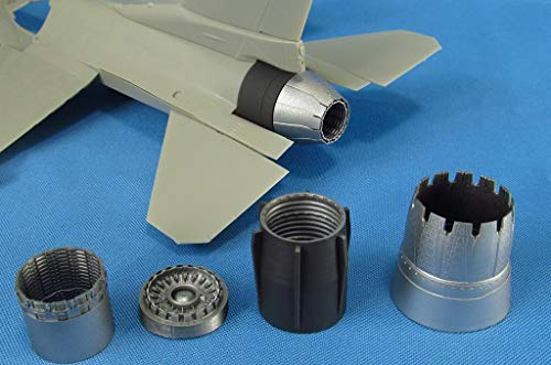 Metallic Details F-16. Jet Nozzle for Engine F110 (Opened) (Tamiya) 1/48 MDR4862 Scale Model Resin kit