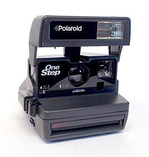 Polaroid Cámara instantánea de un paso 600 con flash electrónico 600