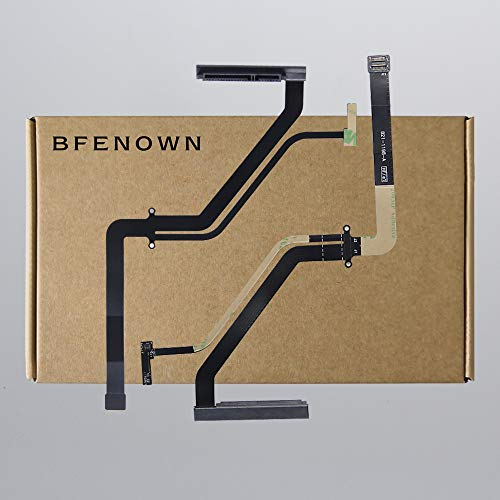 Bfenown ReplacementHDD SATA SSD Hard Drvie Disk Connector Cable with IR/Sleep for MacBook Pro Unibody 15 A1286 (922-9034, 922-9314, 922-9751) (821-0812-A,821-0989-A,821-1198-A) 2009 2010 2011 Year