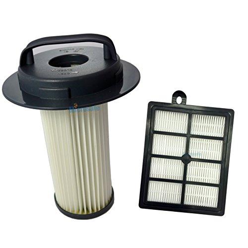 Filterset - Luftfilter FC8048 + HEPA Filter für Philips Marathon FC9212 / FC9214 / FC9216 / FC9218 - Nr.: 432200524860, 432200517520 von Microsafe®