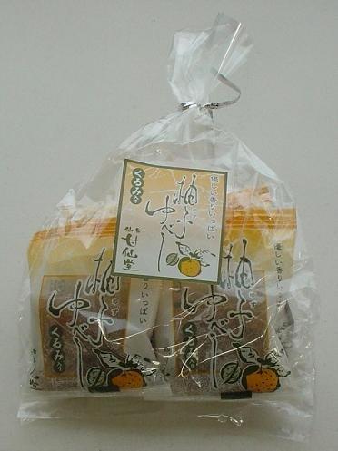 甘仙堂『季節限定販売 柚子ゆべし』