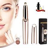 Eyebrow Hair Remover, SiKii Painless-Precision Eyebrow Trimmer Brows Epilator Eye Brow Facial Face...