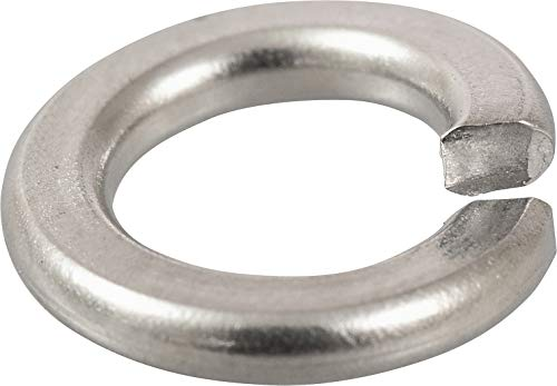The Hillman Group 2236 Number-10 Stainless Steel Split Lock Washer 50-Pack