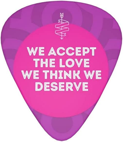 We Accept The Love Max 72% OFF Guitar pick Phoenix Mall Bass Or Th Acoustic 12pcs