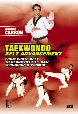 Taekwondo Belt Advancement From White Belt to Black Belt 1st Dan Techniques & Poomse