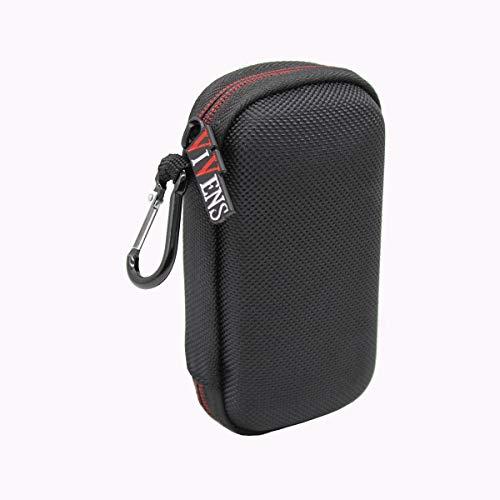 Portátil Funda para Reproductor MP3 Bluetooth Bolsa Protectora rígida de Viaje por VIVENS (Negro)