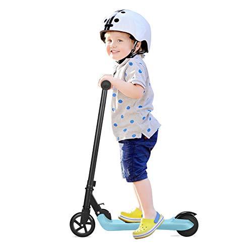 Q2 Patinetes eléctricos para niños, scooter eléctrico de 2 ruedas 2AH, patinete...