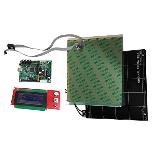 Reprap Prusa i3 MK2 Imprimante 3d kit de carte mère mini-Rambo 1.3a et lit chauffant en aluminium avec rampes d'accès 1.4 2004 LCD