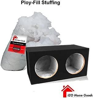 IZO Home Goods Polyfill Stuffing 100% Polyester Fiber Speaker Cabinet Sound Damping Material 2 lb. Bag