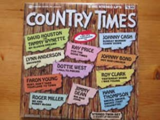Country Times (2 Record Set-As Advertised on TV) Record Album Vinyl LP
