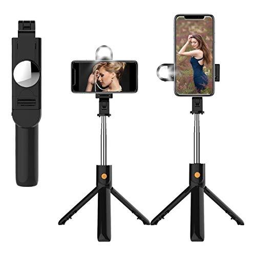Tripé Suporte para Celular K10-s Bluetooth Botão Selfie Stick