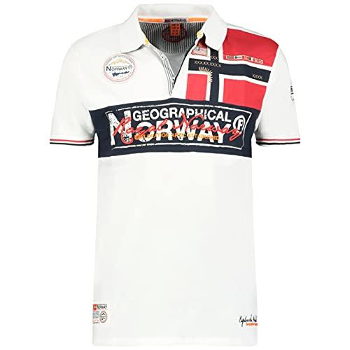 Geographical Norway Kidney - Polo Algodón con Logo...