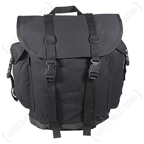Mil-Tec sac à dos de montagne style armée fédérale Noir