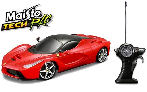 Maisto Tech R/C LaFerrari: Ferngesteuertes Auto im Maßstab 1:24, mit Pistolengriff-Steuerung, Hinterradantrieb, ab 8 Jahren, 20 cm, schwarz (581086-2)