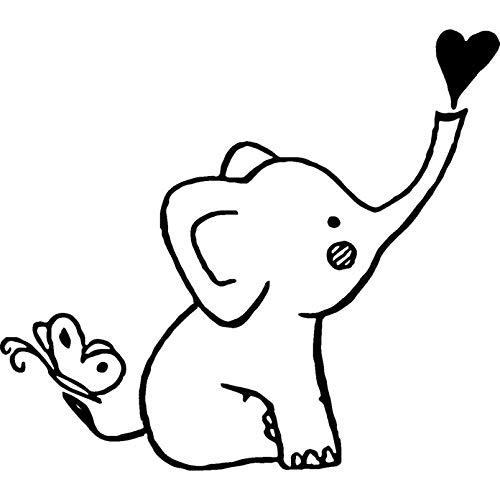 A7 'Baby Elefant' Stempel (Unmontiert) (RS00012418)