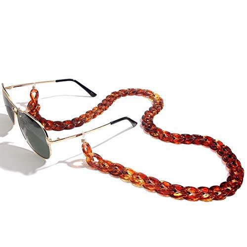 GIVO Cadena de Gafas de Sol acrílicas, Gafas de Lectura para Mujer, Cadena para el Cuello Colgante, Cadena para Gafas, Correa para anteojos