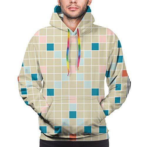 Ye Hua Brettspiel Gelehrsamkeit Pädagogische Unisex Mode gedruckt Pullover Hoodies Kapuzenpullover für Sport und Party XXXL