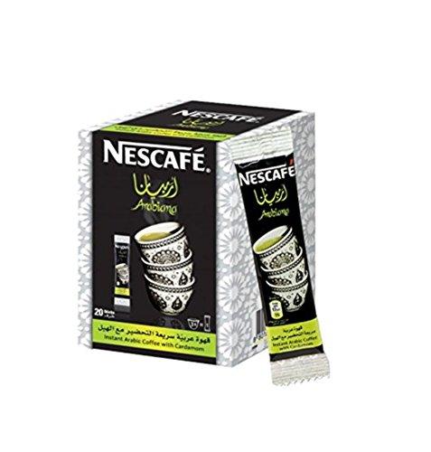 Instant Nescafe Arabiana #Arabic Coffee Mix With Cardamom Flavor (2 Box (40 sticks))