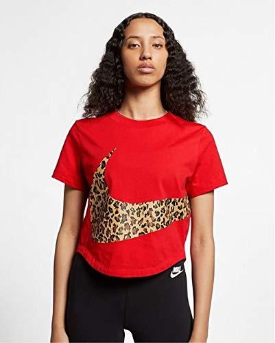 Nike Damen Langarm Shirt Element Half-Zip, Blue Lagoon/Heather/Reflective Silver, XS, 481320