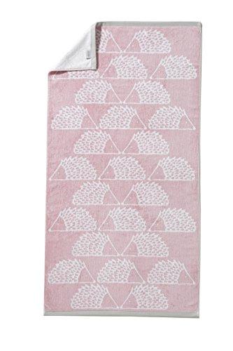Scion living Drap de Douche, 100% Coton, Blush, 70 x 130 cm