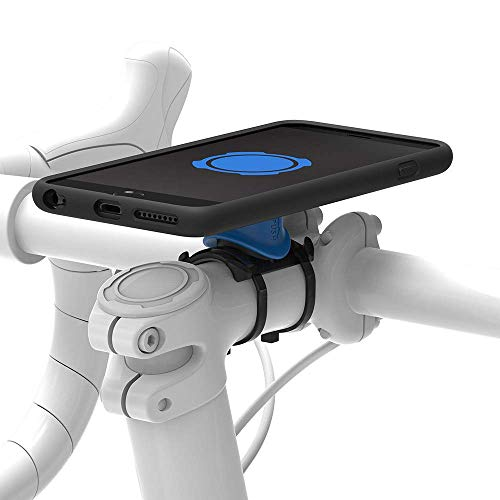Quadlock Bike Kit Soporte de Bicicleta iPhone 6 Plus/6S Plus, Unisex, Negro/Azul, M
