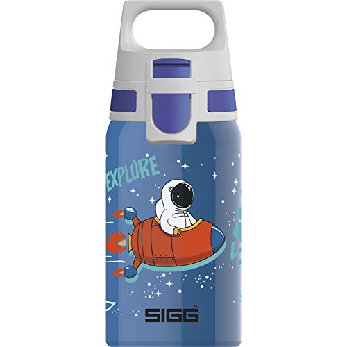 Sigg Shield One Space, Unisex-Youth, Azul, 0.5 L