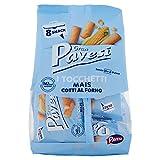 Gran Pavesi Snack Tocchetti al Mais Cotti al Forno, senza Olio di Palma, 8 Pacchetti, 256g