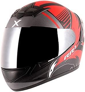 Axor Rage RR3 Dull Black Red Helmet-L