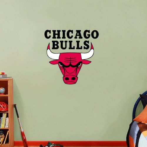 chicago bulls wall decal - 6