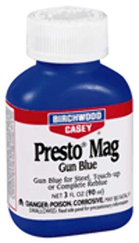 Birchwood Casey Presto Mag Gun Blue 3 Ounce, White