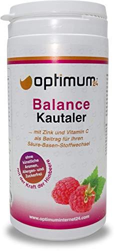 Optimuml24 | Heerlijke balans zure basis kauwer met vitamine C | Perfect voor sport | multivitaminen | Evenwichtskuur met minerale voedingsstoffen Magnesium mangaan koper chroom