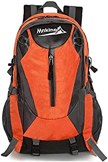 EDGHHG Men and Women Outdoor Mountaineering Backpack Backpack Suitable for Multi-Function Oxford Cloth Backpack Riding Off-Road Jogging Leisure Travel Mountaineering Backpack Neutral Travel on Foot