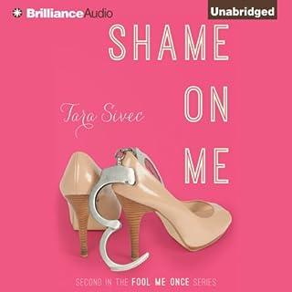 Shame on Me audiobook cover art