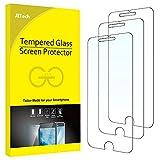 JETech Protector de Pantalla para iPhone 8 Plus, iPhone 7 Plus, iPhone 6s Plus y iPhone 6 Plus, Cristal Vidrio Templado, 3 Unidades