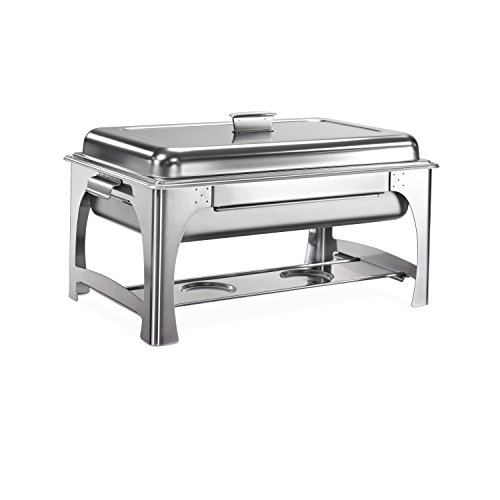 Tramontina 80205/520DS Pro-Line Stainless Steel Chafing Dish, 9-Quart, NSF-Certified