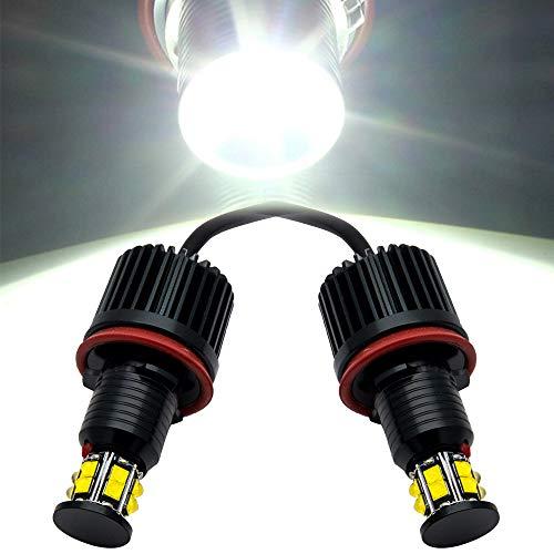 Angel Eye Halo LED Leuchtmittel für E82 E90 E92 E60 E61 E63 E64 E70 E71 E89, 2 Stück