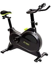 FITBOX LITE 第3世代フィットネスバイク スピンバイク ダイエット器具 メーカー1年保証 組み立て簡単 静音 トレーニング トレーニングバイク…