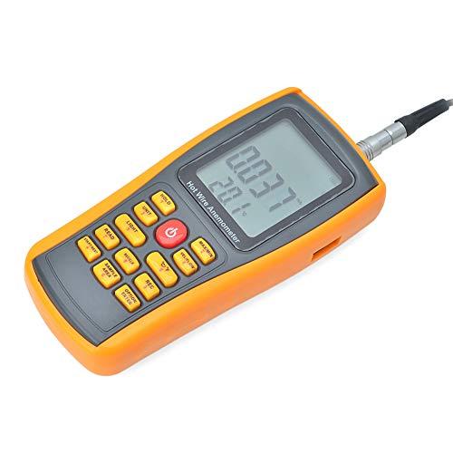 XIAMIMI Thermo Thermo Ball Digital Anemometer Luftmengenmesser Windgeschwindigkeit Lufttemperatur Messgerät